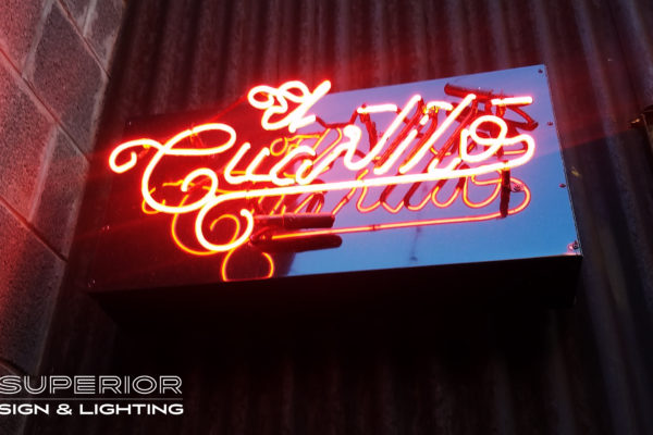 El Cuartito Neon Sign