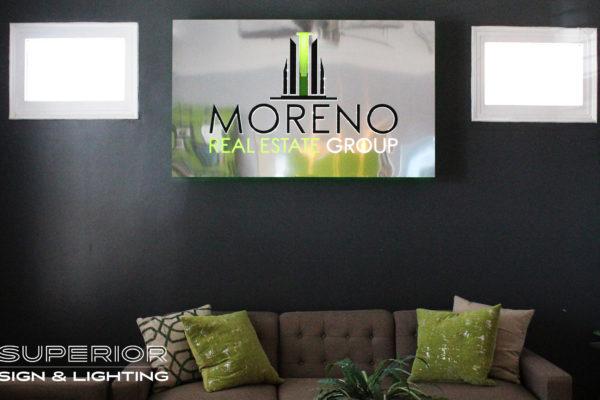 Moreno Interior Front Lit Cabinet