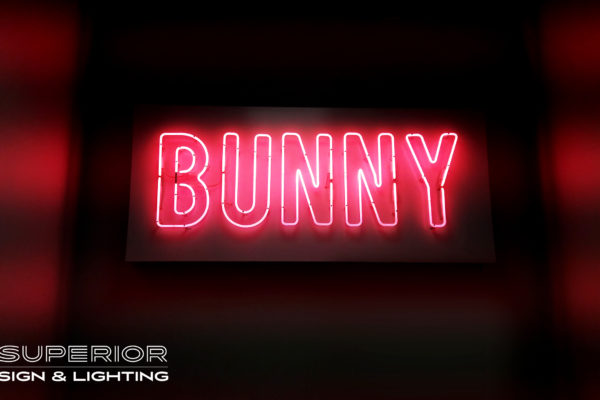 Thousand Grams - Bunny in pink neon