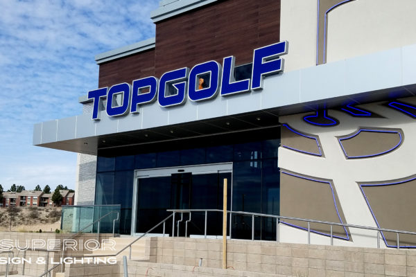 Top Golf Channels on canopy